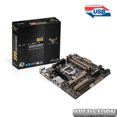 Материнская плата Asus Vanguard B85 (s1150, Intel B85, PCI-Ex16)