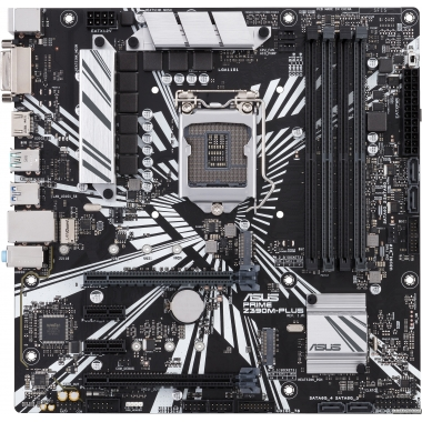 Материнская плата Asus Prime Z390M-Plus (s1151, Intel Z390, PCI-Ex16)
