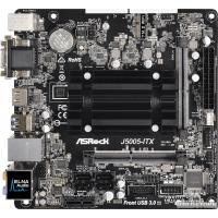 Материнская плата ASRock J5005-ITX (Intel Pentium J5005, SoC, PCI-Ex1)