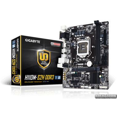 Материнская плата Gigabyte GA-H110M-S2H DDR3 (s1151, Intel H110, PCI-Ex16)
