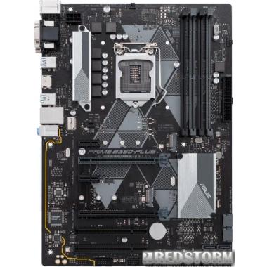 Материнская плата Asus Prime B360-Plus (s1151, Intel B360, PCI-Ex16)