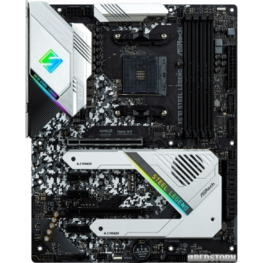 Материнская плата ASRock X570 Steel Legend (sAM4, AMD X570, PCI-Ex16)