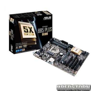 Материнская плата Asus B85-PLUS/USB 3.1 (s1150, Intel B85, PCI-E