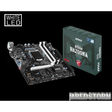 Материнская плата MSI B150M Bazooka (s1151, Intel B150, PCI-Ex16)