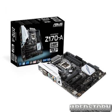 Материнская плата Asus Z170-A (s1151, Intel Z170, PCI-Ex16)