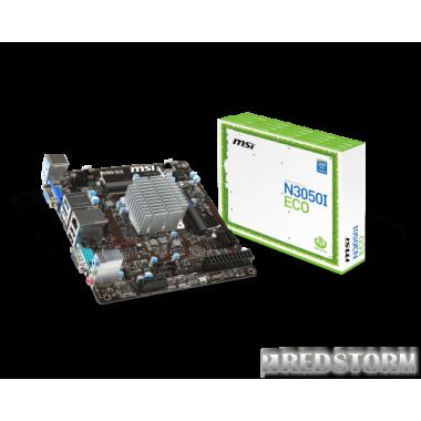Материнская плата MSI N3050I ECO (Intel Celeron N3050, SoC, PCI-Ex4)