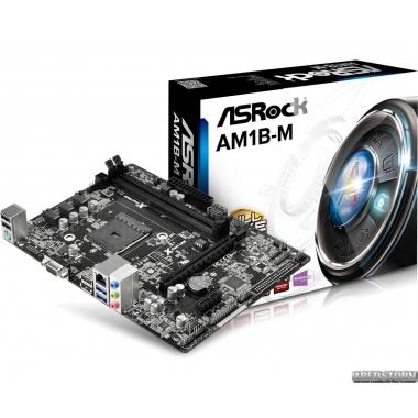 Материнская плата ASRock AM1B-M (sAM1, PCI-Ex16)
