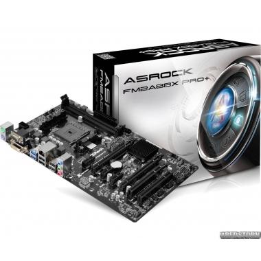 Материнская плата ASRock FM2A88X PRO+ (sFM2/FM2+, AMD A88X, PCIe
