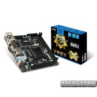 MSI B85I (s1150, Intel B85, PCI-Ex16)