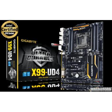 Материнская плата Gigabyte GA-X99-UD4 (s2011-3, Intel X99, PCI-Ex16)