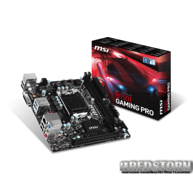 Материнская плата MSI B150I Gaming Pro (s1151, Intel B150, PCI-Ex16)