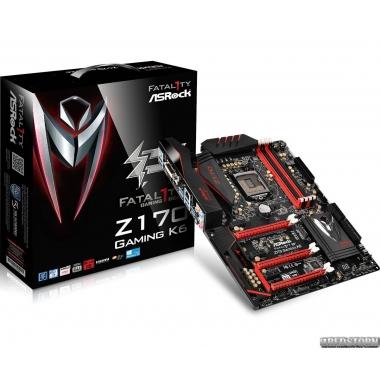 Материнская плата ASRock FATAL1TY Z170 Gaming K6 (s1151, Intel Z170, PCI-Ex16)