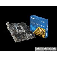 MSI B150M Pro-VDH D3 (s1151, Intel B150, PCI-Ex16)