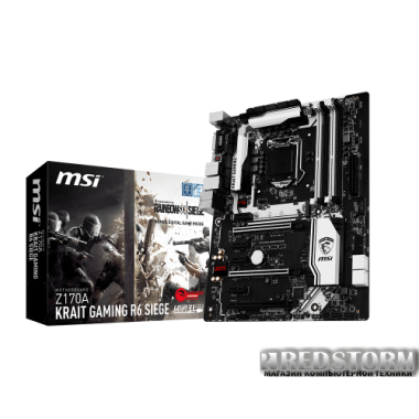 Материнская плата MSI Z170A Krait Gaming R6 Siege (s1151, Intel