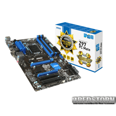 Материнская плата MSI Z97 PC Mate (s1150, Intel Z97, PCI-Ex16)