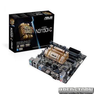 Материнская плата Asus N3150I-C (Intel Celeron N3150, SoC, PCI-Ex4)