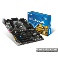 MSI Z170A PC Mate (s1151, Intel Z170, PCI-Ex16)