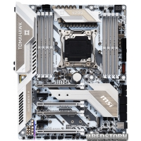 MSI X299 Tomahawk Arctic (s2066, Intel X299, PCI-Ex16)
