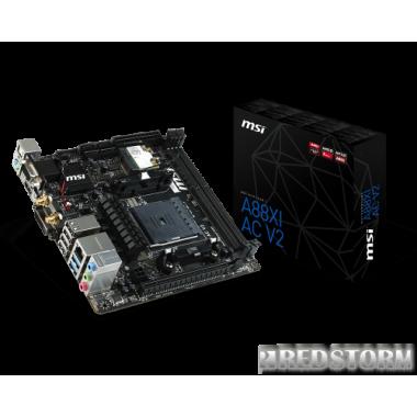 Материнская плата MSI A88XI AC (sFM2+, AMD A88X, PCI-Ex16)