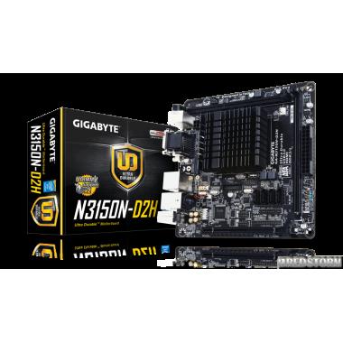 Материнская плата Gigabyte GA-N3150N-D2H (Intel Celeron N3150, S