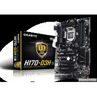Gigabyte GA-H170-D3H (s1151, Intel H170, PCI-Ex16)