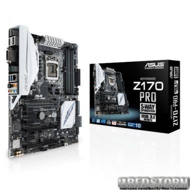 Материнская плата Asus Z170-Pro (s1151, Intel Z170, PCI-Ex16)