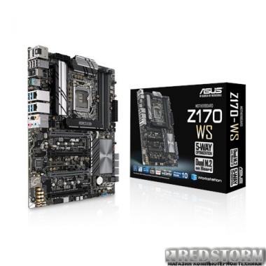 Материнская плата Asus Z170-WS (s1151, Intel Z170, PCI-Ex16)