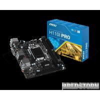 MSI H110I Pro (s1151, Intel H110, PCI-Ex16)