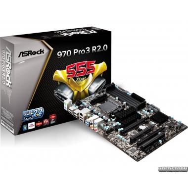 Материнская плата ASRock 970 PRO3 R2.0 (sAM3+, AMD 970/SB950, PCI-Ex16)