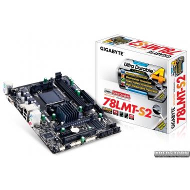 Материнская плата Gigabyte GA-78LMT-S2 (sAM3+, AMD 760G, PCI-Ex16)