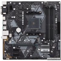 Материнская плата Asus Prime B450M-A/CSM (sAM4, AMD B450, PCI-Ex16)