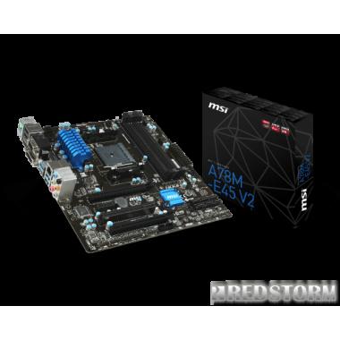 Материнская плата MSI A78M-E45 V2 (sFM2+, AMD A78, PCI-Ex16)
