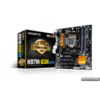 Gigabyte GA-H97M-D3H (s1150, Intel H97, PCI-Ex16)