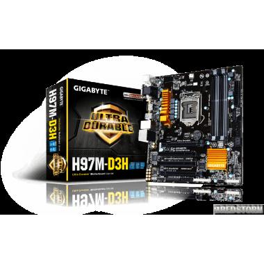 Материнская плата Gigabyte GA-H97M-D3H (s1150, Intel H97, PCI-Ex
