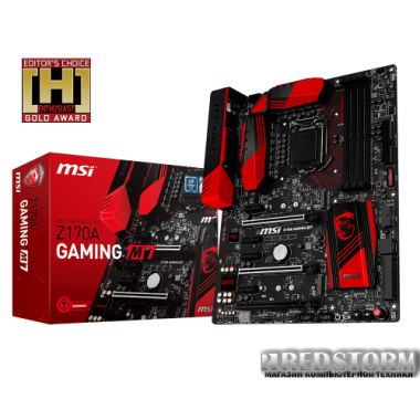 Материнская плата MSI Z170A Gaming M7 (s1151, Intel Z170, PCI-Ex16)