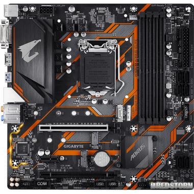 Материнская плата Gigabyte B365M AORUS ELITE (s1151, Intel B365, PCI-Ex16)