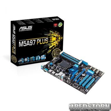 Материнская плата Asus M5A97 Plus (sAM3+, AMD 970/SB950, PCI-Ex16)