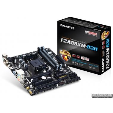 Материнская плата Gigabyte GA-F2A88XM-D3H (sFM2+, AMD A88X, PCI-