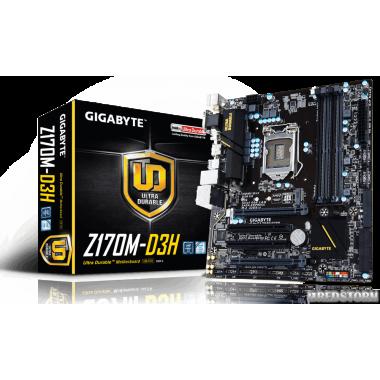Материнская плата Gigabyte GA-Z170M-D3H DDR3 (s1151, Intel Z170, PCI-Ex16)