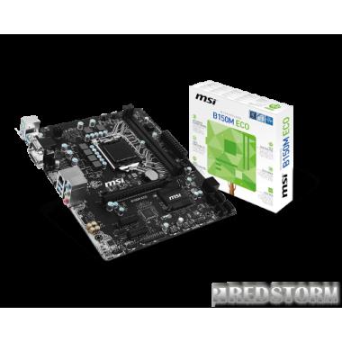 Материнская плата MSI B150M ECO (s1151, Intel B150, PCI-Ex16)