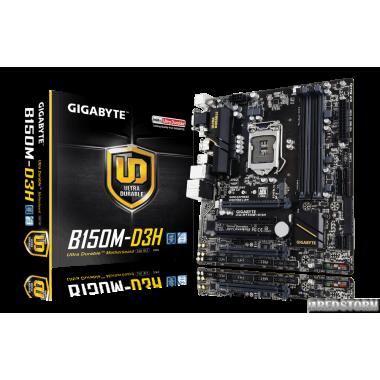Материнская плата Gigabyte GA-B150M-D3H (s1151, Intel B150, PCI-Ex16)