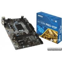MSI H110M PRO-VDP (s1151, Intel H110, PCI-Ex16)