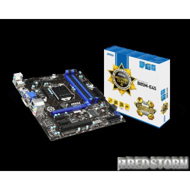 Материнская плата MSI B85M-E45 (s1150, B85, PCI-Ex16)