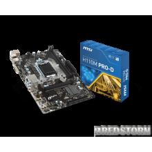 MSI H110M PRO-D (s1151, Intel H110, PCI-Ex16)