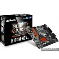 Мат. плата ASRock H110M-HDV R3.0 Socket 1151
