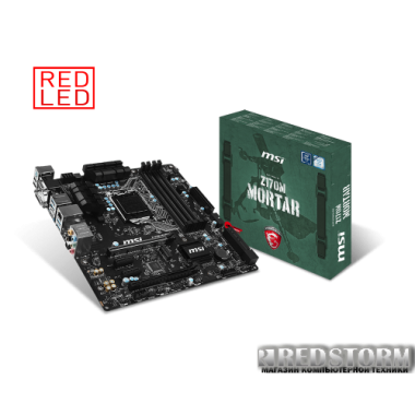 Материнская плата MSI Z170M Mortar (s1151, Intel Z170, PCI-Ex16)