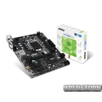MSI H110M ECO (s1151, Intel H110, PCI-Ex16)