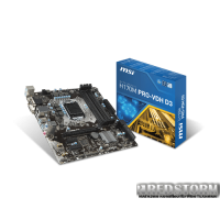MSI H170M PRO-VDH D3 (s1151, Intel H170, PCI-E x16)