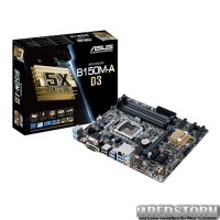 Asus B150M-A D3 (s1151, Intel B150, PCI-Ex16)