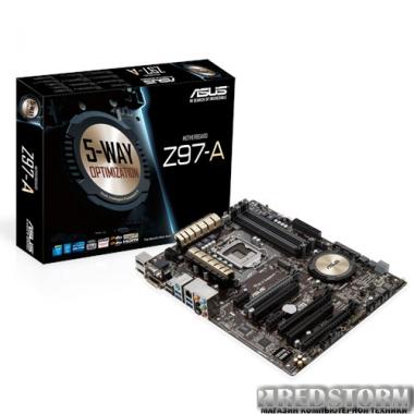 Материнская плата Asus Z97-A (s1150, Intel Z97, PCI-Ex16)